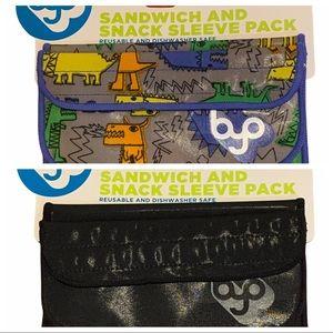 2- Reusable Sandwich Sleeves- BYO Built